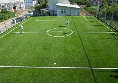 Футболно игрище с обслужваща сграда гр. Троян