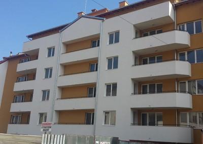 Строителство на жилищна сграда на 4 етажа и гаражи - гр.Троян